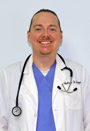 Dr. Andrew Boggs is an emergency medicine veterinarian.