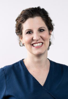 Dr. Elizabeth Goudie-DeAngelis is board certified in veterinary anesthesia and pain management.