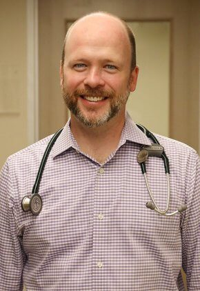 Dr. David Wohlstadter is an emergency medicine veterinarian.
