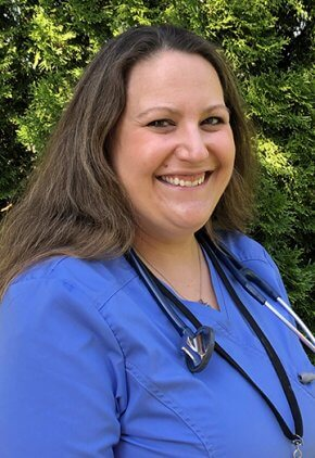Dr. Laura Roy-Eitner is an emergency medicine veterinarian.