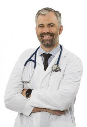 Dr. Scott Roberts is board certified in small animal surgery.