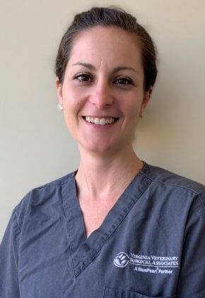 Dr. Jessica Giannetto is board certified in small animal surgery.