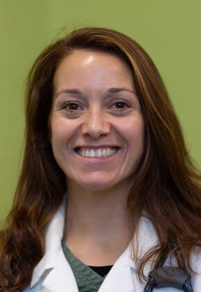 Dr. Nicole Salas is board certified in small animal surgery.