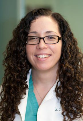 Dr. Sabrina Reilly is board certified in veterinary anesthesiology and pain management.