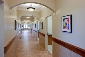 Northfield, IL hospital hallway