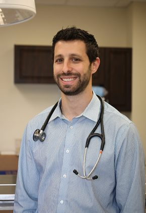 Dr. Daniel Linden is board certified in veterinary small animal surgery.