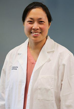 Dr. Kim Hsu is board certified in veterinary ophthalmology.