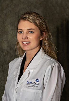 Dr. Melanie Madsen is a small animal medicine and surgery intern.