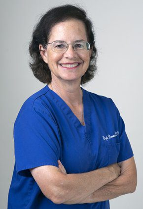 Dr. Gayle Donner is board certified in veterinary surgery.