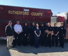 Rutherford county firefighters train for CPR