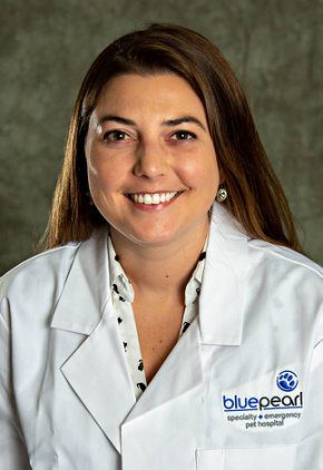 Dr. Amanda Burke is a small animal medicine and surgery intern.
