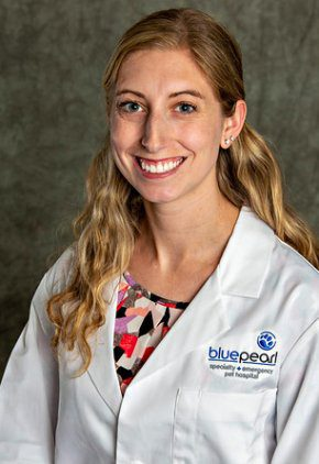 Dr. Danielle Lang is a small animal medicine and surgery intern.