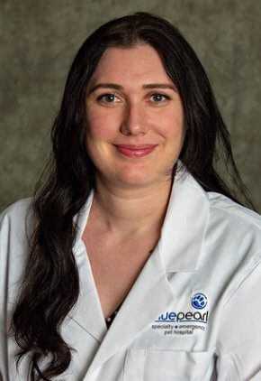Dr. Eleanor Itzkow is a small animal medicine and surgery intern.