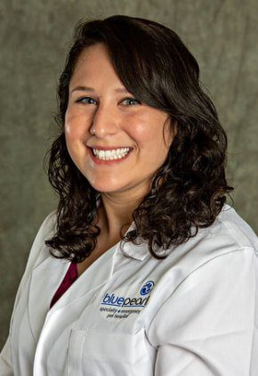 Dr. Kali Sherman is a small animal medicine and surgery intern.