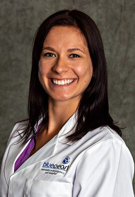 Dr. Kristine Brown is a small animal medicine and surgery intern.