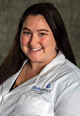 Dr. Rebecca Cassidy is a small animal medicine and surgery intern.