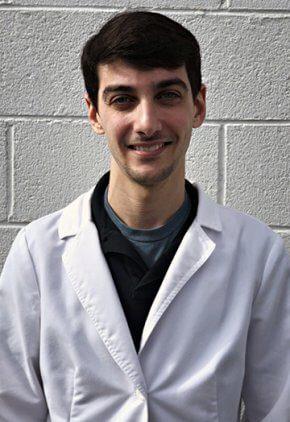 Dr. Jason Strasberg is a small animal medicine and surgery intern.