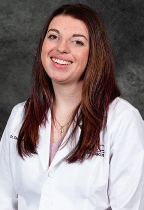 Dr. Sarah Frandsen is a small animal medicine and surgery intern.
