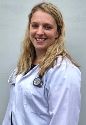 Dr. Lauren Sprague is a small animal medicine and surgery intern.