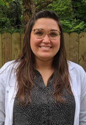 Dr. Christina Cramer is a veterinarian in our surgery service.