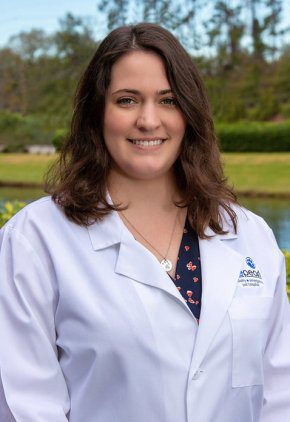 Dr. Lauren Gehrke is a veterinarian in our emergency medicine training program for clinicians.