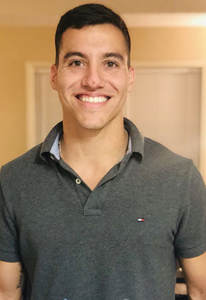 Dr. Pedro Olivencia is an intern in our surgical service.
