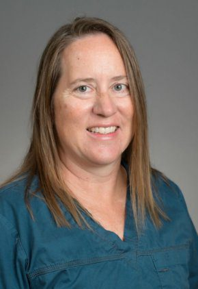 Dr. Amy Melendy is a certified canine rehabilitation therapist.