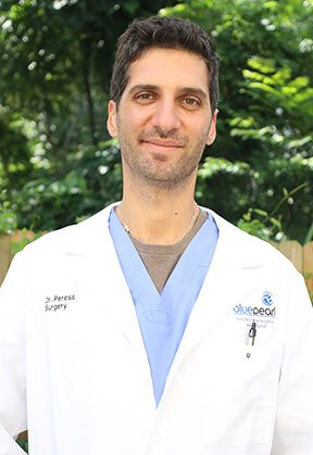 Dr. Raz Peress is a veterinarian in our surgery service.