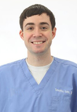 Dr. Timothy Geis is an emergency medicine veterinarian.