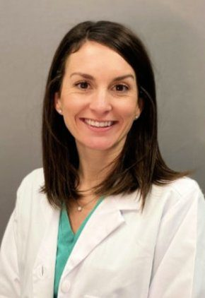 Dr. Molly Holmes is board certified in veterinary radiation oncology.