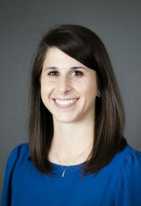 Dr. Rebecca George is board certified in veterinary oncology.