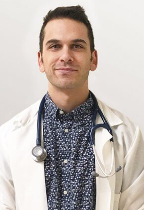 Dr. Olivier Campbell is board certified in veterinary oncology.