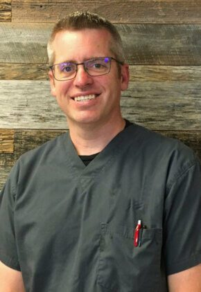 Dr. Trevor Arnold is board certified veterinary ophthalmology.