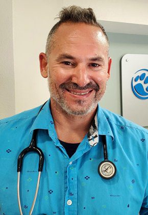 Dr. Pedro Dominguez is board certified in both veterinary oncology and veterinary radiation oncology.