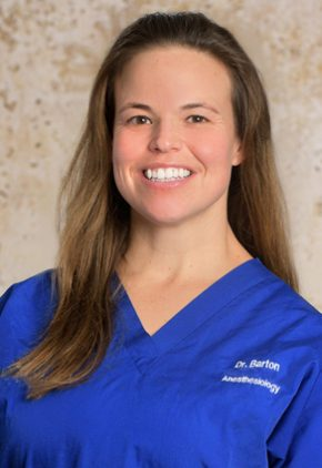 Dr. Ashley Barton is board certified in veterinary anesthesia & analgesia.