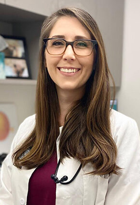 Dr. Autumn Denison is a small animal medicine and surgery intern.