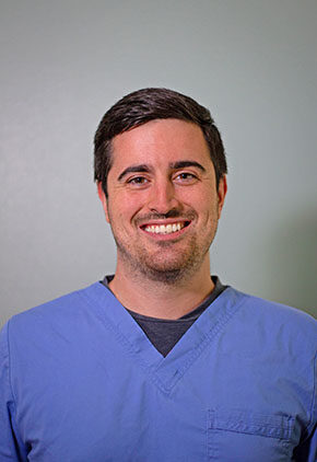 Dr. Eric Schneck is a small animal medicine and surgery intern.