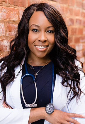 Dr. Shenise Howard is a rotating intern