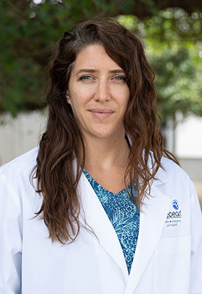 Dr. Allie Wetzel is a veterinarian in our emergency medicine training program for clinicians.