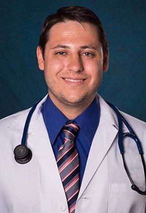 Dr. Zachary Kasson is an intern