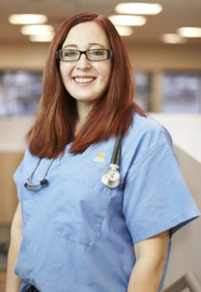 Dr. Vicki Campbell is board certified in both veterinary anesthesiology and pain management, and emergency and critical care medicine.