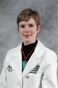 Dr. Carolyn McKune is board certified in veterinary anesthesia and pain management.