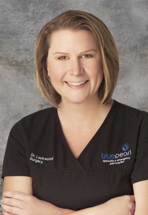 Dr. Abigail Lockwood is board certified in small animal surgery.