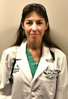 Dr. Tiffany Granone is board certified in veterinary anesthesia and pain management.