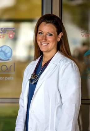 Dr. Lesleigh Redavid is board certified in veterinary emergency and critical care medicine.
