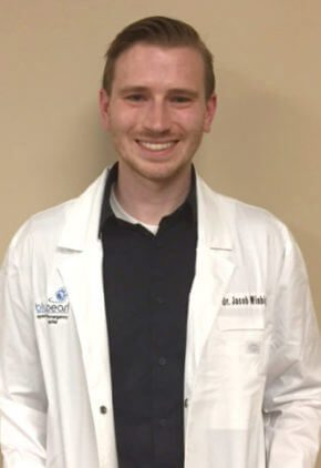 Dr. Jacob Winbigler is an emergency medicine veterinarian.