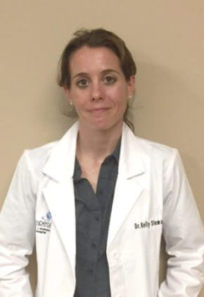 Dr. Kelly Stewart is an emergency medicine veterinarian.