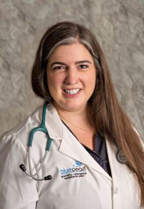 Dr. Meghan Johnson is a resident in our critical care service,
