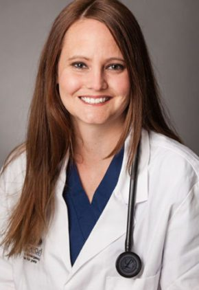 Dr. Rachel Carlson is an emergency medicine veterinarian.