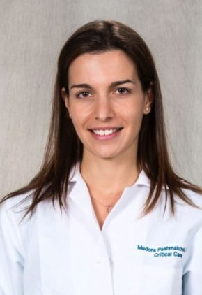 Dr. Medora Pashmakova is board certified in veterinary emergency and critical care medicine.